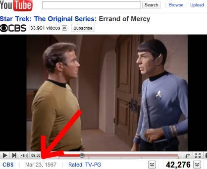 Star Trek on YouTube
