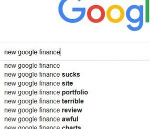Google Finance Unusable Design « Hashemian Blog