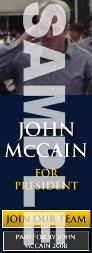 John McCain Google Adsense
