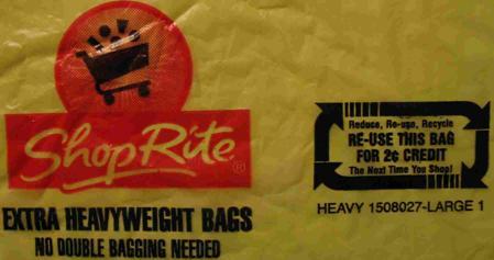 ShopRite plastic bag