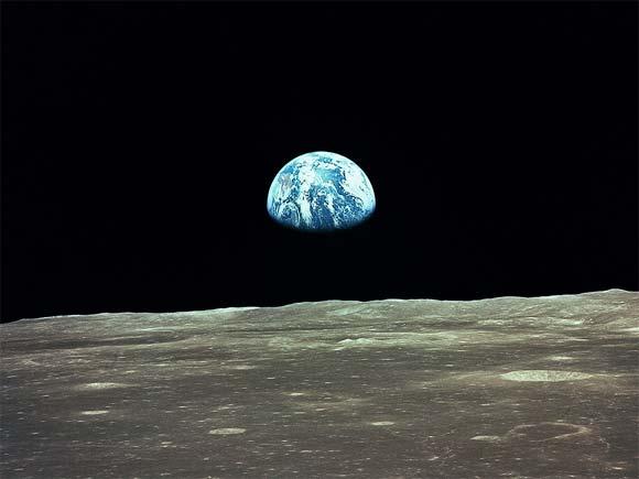NASA Image from Apollo 11
