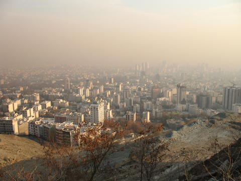 I took this picture from one of the elevations surrounding tehran.